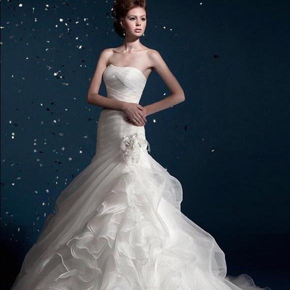 Kitty Chen Dresses Charlotte Wedding Dress Poshmark
